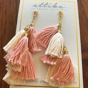 Ettika Los Angeles New Tassel Earrings